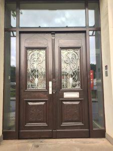 Außentür restauriert